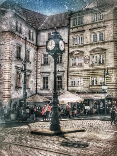 Prague Clock View